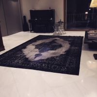 HANDMADE MODERN RUGS FOR LIVING ROOM